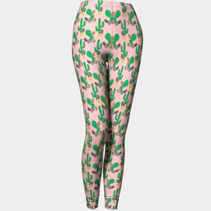 Leggings-Cactus-rose