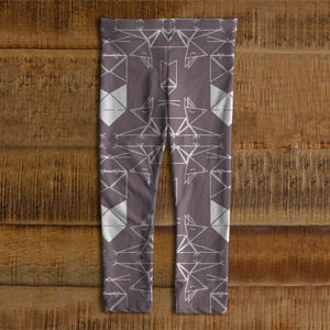 Leggings-Chat-origami-enfants