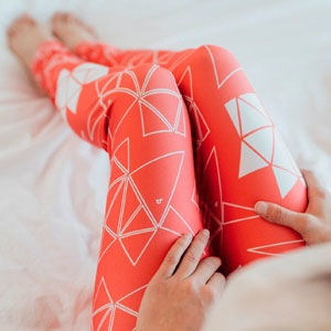 Leggings-origami-Rose